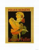 Folies Bergère Reproduction d'art par Jules Chéret