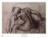 Femme à sa toilette Reproduction d'art par Edgar Degas