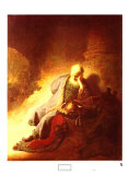 The Prophet Jeremiah Mourning over the Destruction of Jerusalem  1630