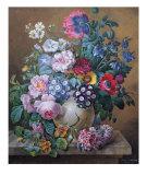 Rich Still Life of Summer Flowers