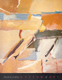 Berkeley N° 8 Reproduction d'art par Richard Diebenkorn