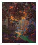 Old Oak Glen Reproduction d'art par Maxfield Parrish