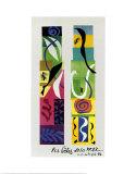 Les Bêtes De La Mer Reproduction d'art par Henri Matisse