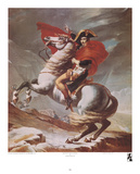 Napoleon Crossing the St Bernard Pass  c1801