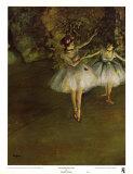 Ballerines Reproduction d'art par Edgar Degas