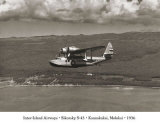 Inter-Island Airways  Sikorsky S-43  Kaunakakai  Molokai  Hawaii  1936