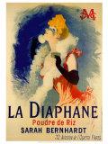 La Diaphane Reproduction d'art par Jules Chéret