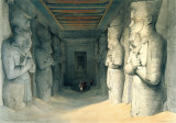 Interior of Abou Simbel