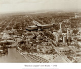 Brazilian Clipper over Miami  1934