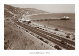 Along the Malibu Coast  California  1952