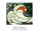 Femme endormie, 1932 Reproduction d'art par Pablo Picasso