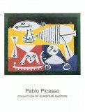 Mère et enfants, 1951 Reproduction d'art par Pablo Picasso