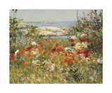 Vue de l'océan Reproduction d'art par Childe Hassam