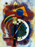 Hommage à Grohmann Reproduction d'art par Wassily Kandinsky