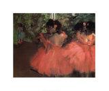 Danseuses Reproduction d'art par Edgar Degas