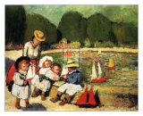 Les Tuileries Reproduction d'art par Pablo Picasso
