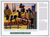 African American Artists - William H Johnson - Going to Church