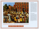 African American Artists - Allan Rohan Crite - School's Out