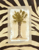 Zebra Palm I