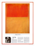 Twentieth Century Art Masterpieces -Mark Rothko - Orange and Tan