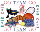 Girls Sports Theme