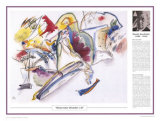 Twentieth Century Art Masterpieces -Wassily Kandinsky - Watercolor
