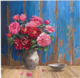 Aged Wood and Roses