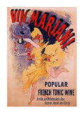Vin Mariani Reproduction d'art par Jules Chéret