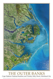 Outer Banks  NC from Space   - ©Spaceshots