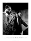 Coleman Hawkins and Miles Davis