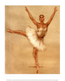 Ballerine II Reproduction d'art par Caroline Gold