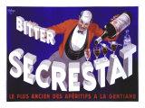 Publicité pour l'apéritif Secrestat Giclée par Robys (Robert Wolff)