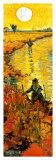 The Red Vineyard at Arles, c.1888 (detail) Reproduction d'art par Vincent Van Gogh
