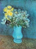Vase of Lilacs, Daisies and Anemones, c.1887 Reproduction d'art par Vincent Van Gogh