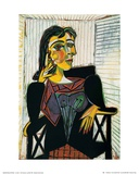 Portrait of Dora Maar, c.1937 Reproduction d'art par Pablo Picasso
