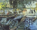 Bathers at La Grenouillers  c1869
