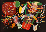Composition X, vers 1939 Reproduction d'art par Wassily Kandinsky