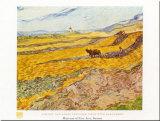 La moisson Reproduction d'art par Vincent Van Gogh