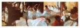 Ecole de Danse (detail) Reproduction d'art par Edgar Degas