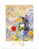 Bouquet D'arums Reproduction d'art par Raoul Dufy