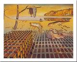 La désintégration de la persistance de la mémoire|The Disintegration of the Persistence of Memory, vers 1954 Reproduction d'art par Salvador Dalí