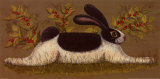Green Folk Bunny