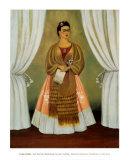 Autoportrait dédicacé à Leon Trotsky, 1937 Reproduction d'art par Frida Kahlo