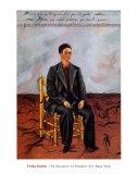 Autoportrait aux cheveux coupés, 1940 Reproduction d'art par Frida Kahlo