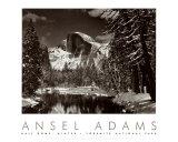 Half Dome, rivière Merced, hiver Reproduction d'art par Ansel Adams