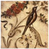 Crimson Songbird I