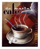 Café de matin Reproduction d'art par Michael L. Kungl