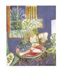 Petit Interieur Bleu  1947