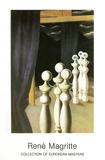 La Rencontre1926\27 Reproduction d'art par Rene Magritte