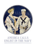 America Calls/Enlist in the Navy